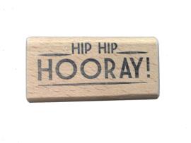 Stempel verjaardag | Hip Hip Hooray!