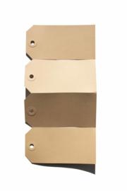 Kraft labels | 45 x 90 mm
