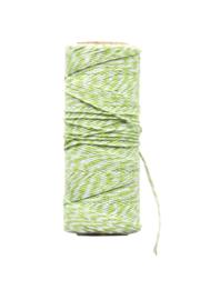 Twine touw | Bakkerstouw | gras groen /wit
