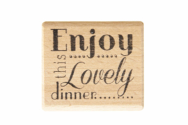 Stempel bruiloft | Enjoy this lovely dinner