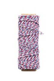 Twine touw | Bakkerstouw | rood/wit/blauw