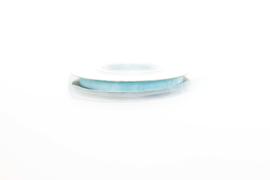 Organza | lint 6 mm| licht blauw