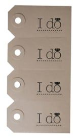 Labels | I do | zwart