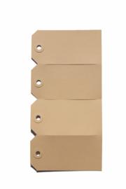 Kraft labels | 60 x 120 mm