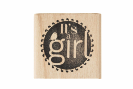 Stempel geboorte | It's a girl