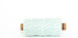 Twine touw | Bakkerstouw | mint/wit