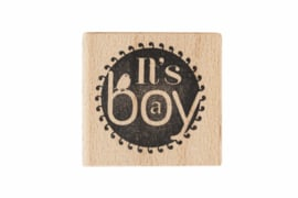 Stempel geboorte | It's a boy