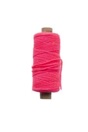 Twine bakkerstouw |  6 mm| neon roze