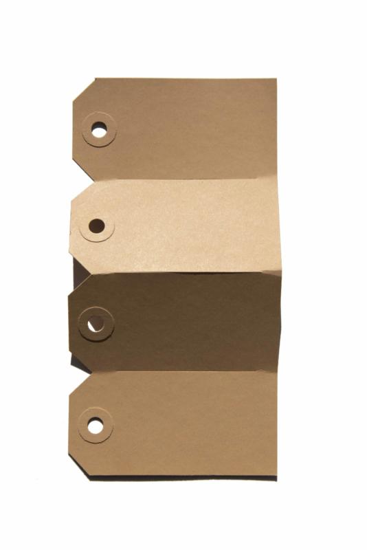 Kraft labels | 35 x 70 mm