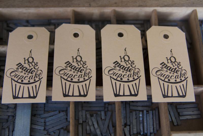 Labels | Homemade cupcake | zwart
