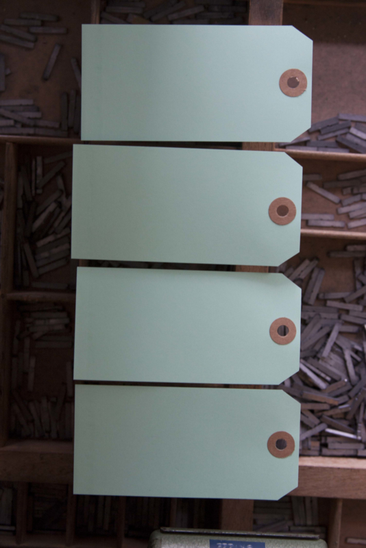 Labels mint (licht) | 60 x 120 mm
