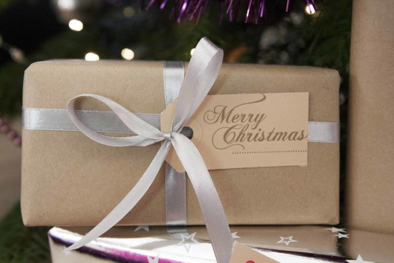 Kerst labels | Merry Christmas | goud