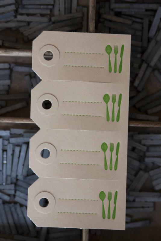 Labels   Bestek   groen