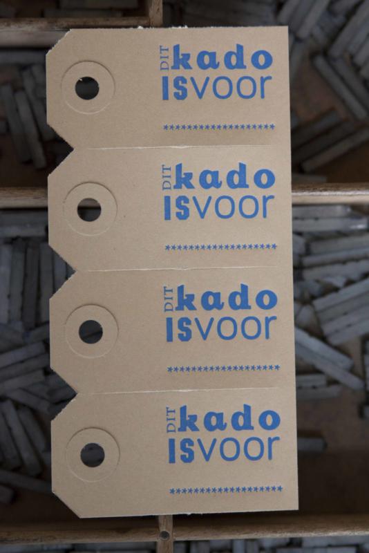 Labels | Dit kado is voor | blauw