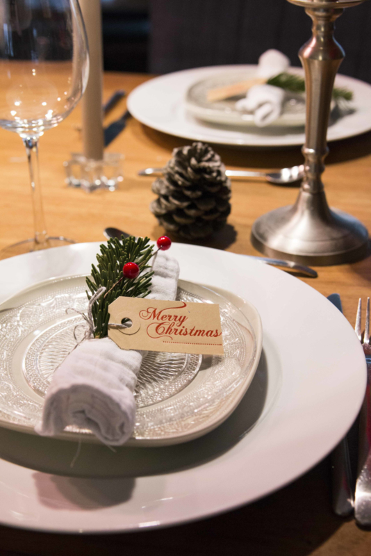 Kerst labels | Merry Christmas | rood