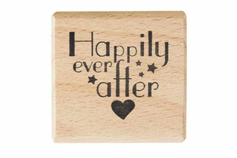 Stempel bruiloft | Happily ever after