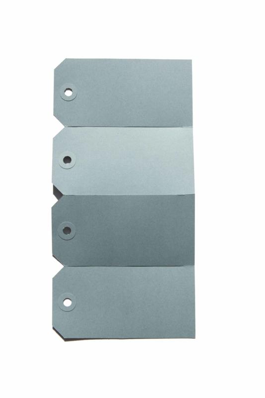 Labels blauw   60 x 120 mm