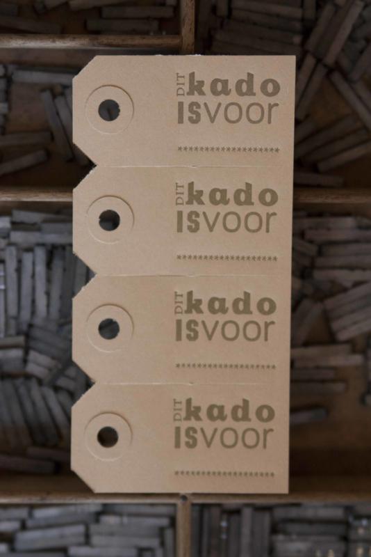 Labels | Dit kado is voor | goud