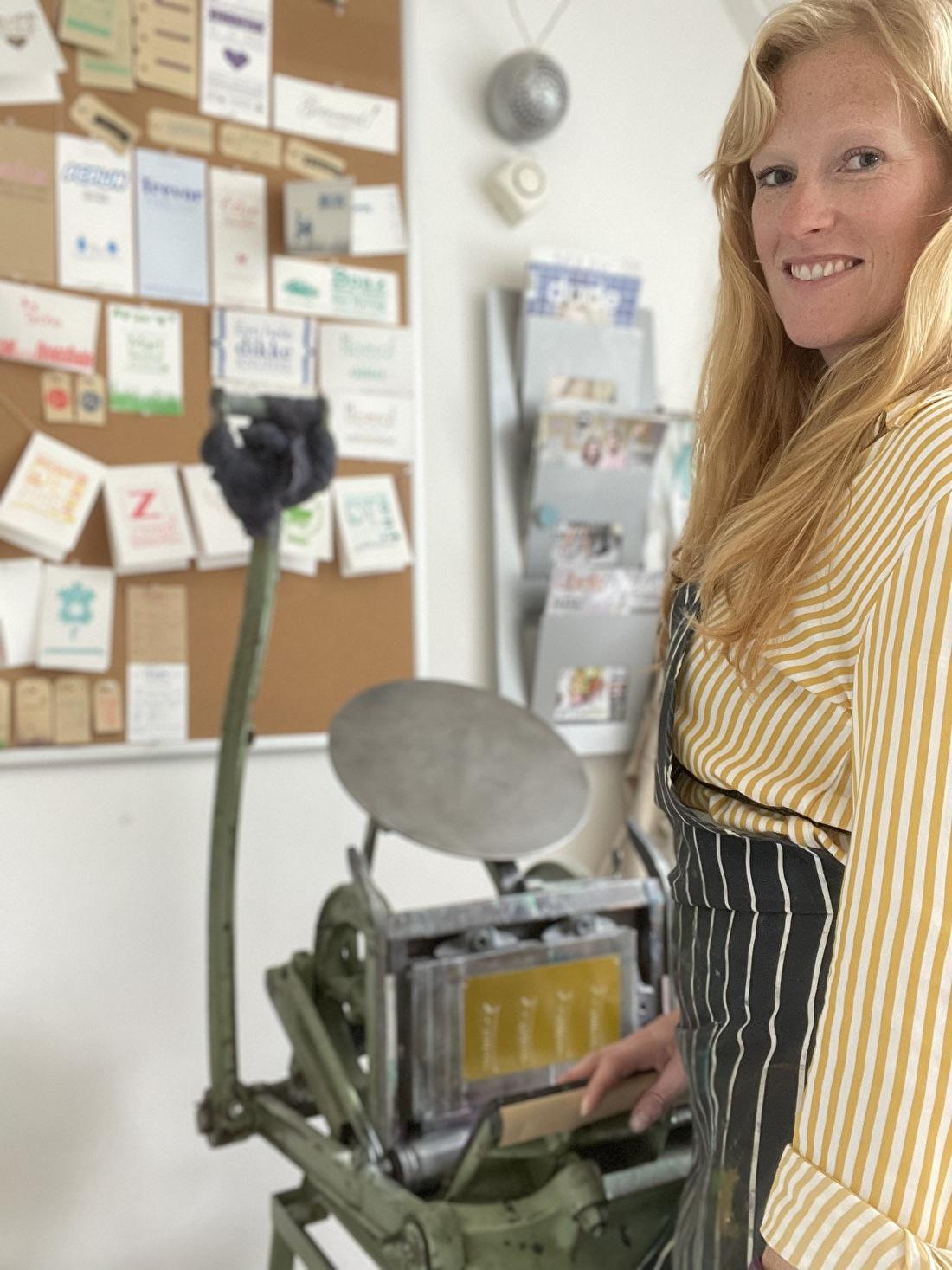 Love Letterpress, Lindsey Stofberg-Knoop, geboortekaartje letterpress, trouwkaarten goedkoop, jongen of meisje