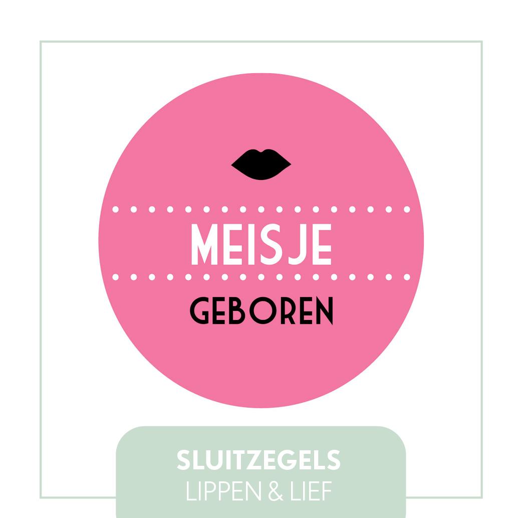 sluitzegels/stickers Lippen meisje, hip modern, goedkoop