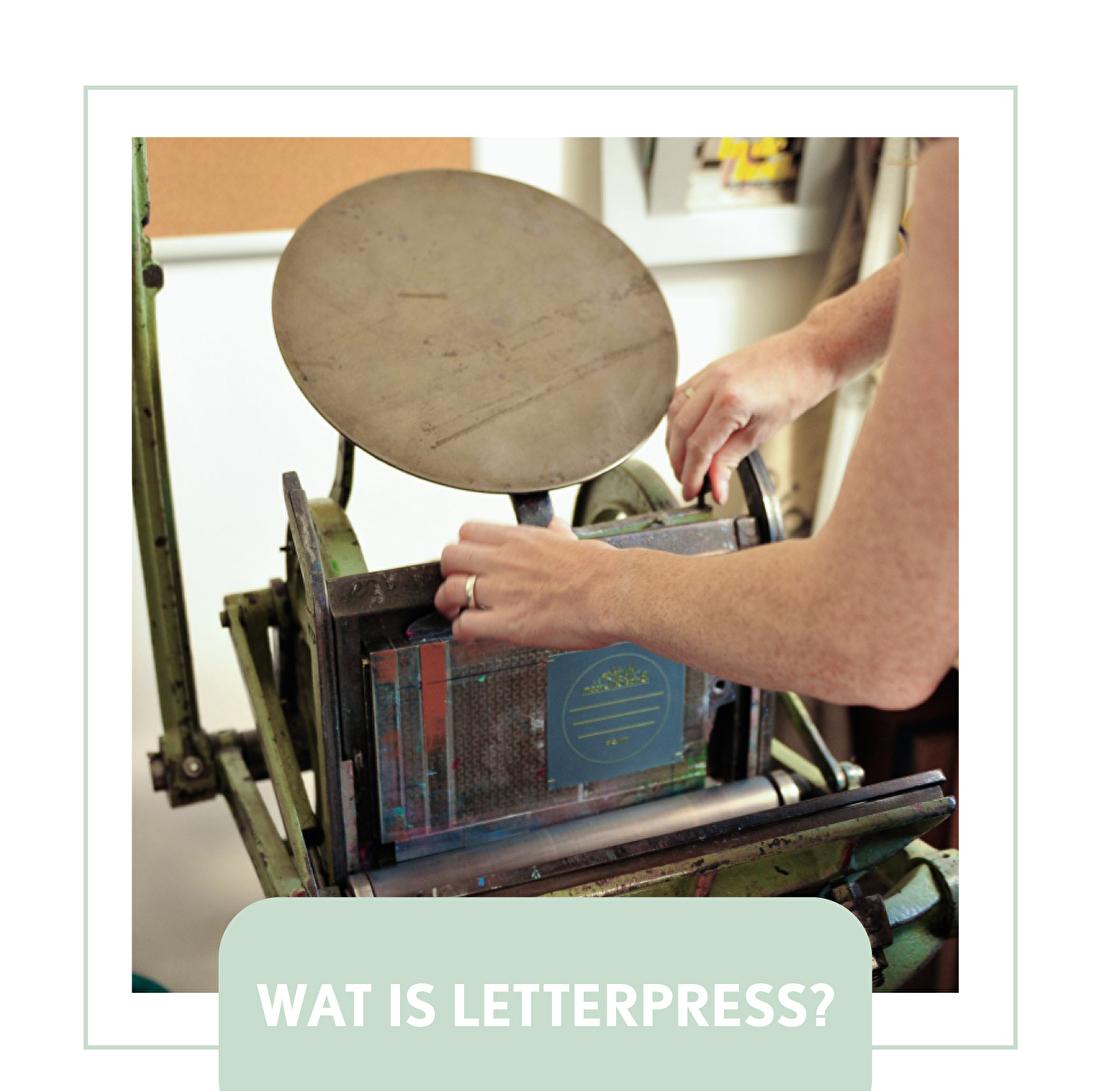 wat is letterpress? geboortekaartje of trouwkaart, goedkoop,