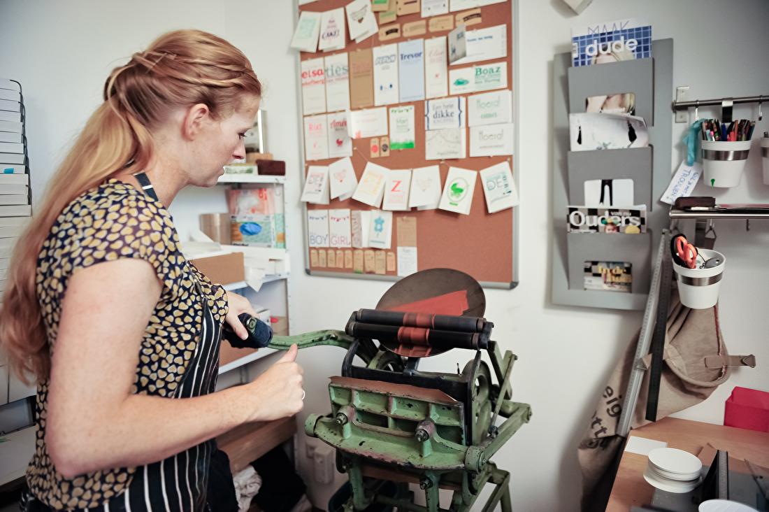 Letterpress, letterpers, Love Letterpress Lindsey, geboortekaartjes, trouwkaarten, goedkoop
