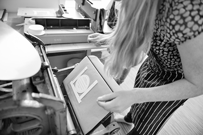 letterpress drukproces drukkerij