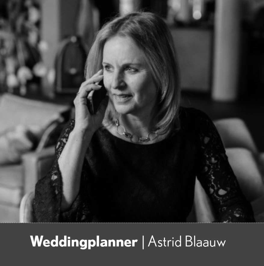 Astrid Blaauw- weddingplanner