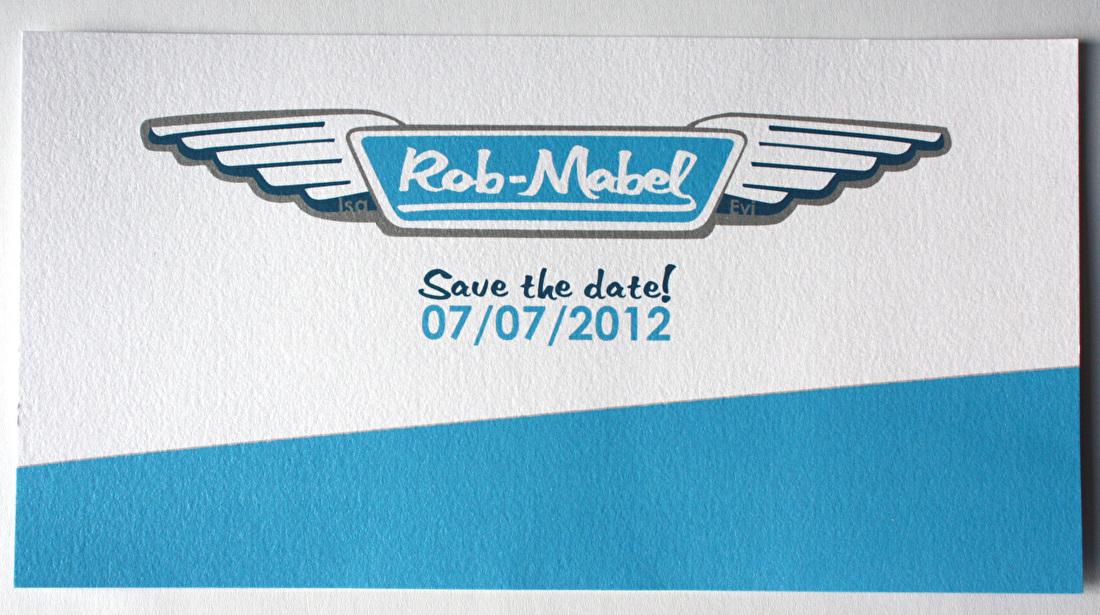 save the date, trouwkaart, Austin martin, trouwstijl