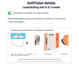ExitTicket Pro voor 1 docent, een half jaar lang toegang tot alle PRO functies