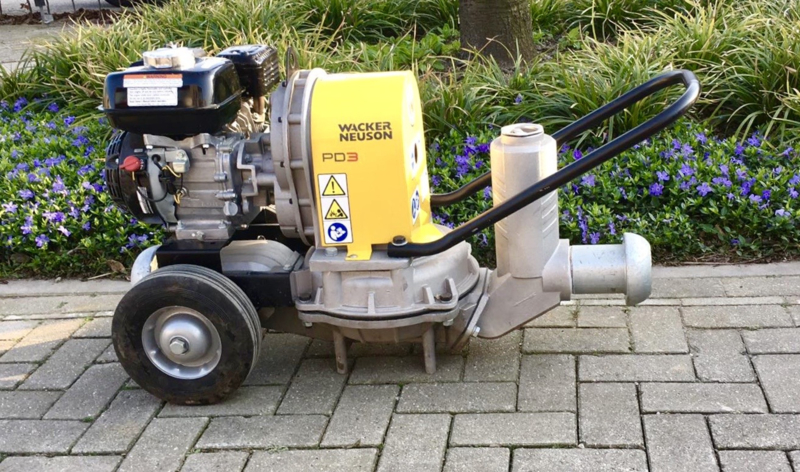 Wacker Neuson PD3 Waterpomp