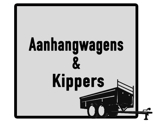 Aanhangwagens en kippers