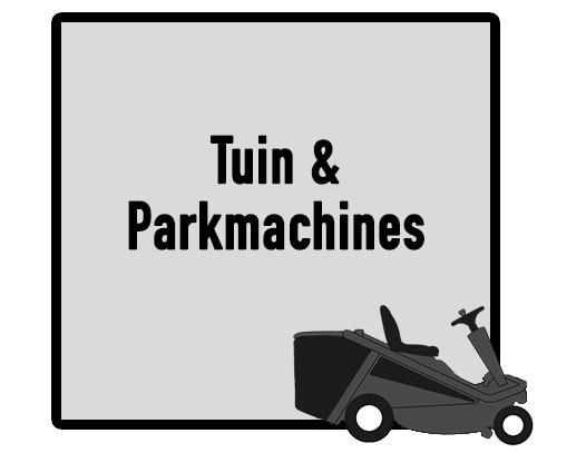 Tuin en Parkmachines