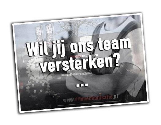 Wil jij ons team versterken?