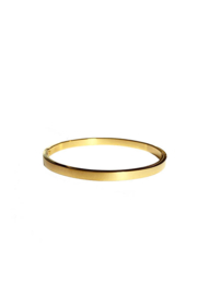 Golden basic bangle