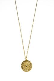 Golden moon coin