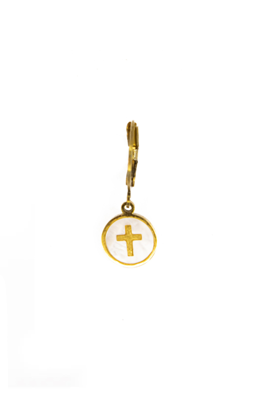 Golden cross coin
