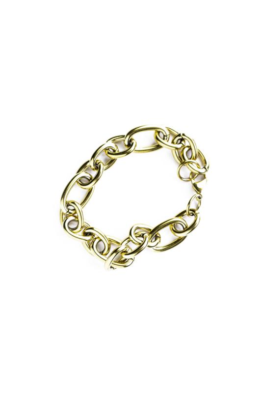Golden vintage chain bracelet