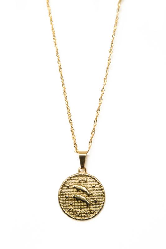Golden zodiac - Pisces