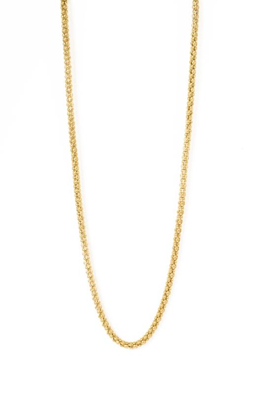 Golden short big chain