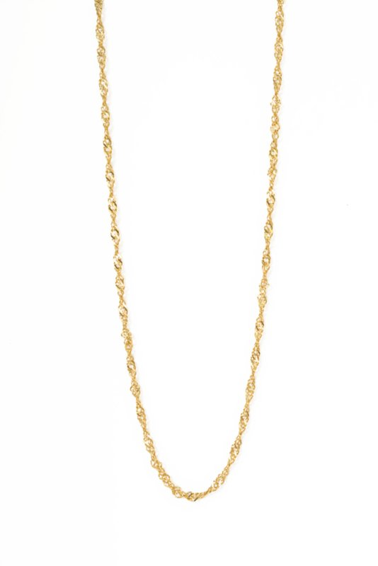 Golden twisted chain