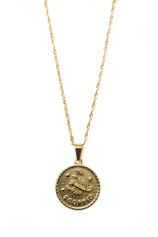 Golden zodiac - Scorpio