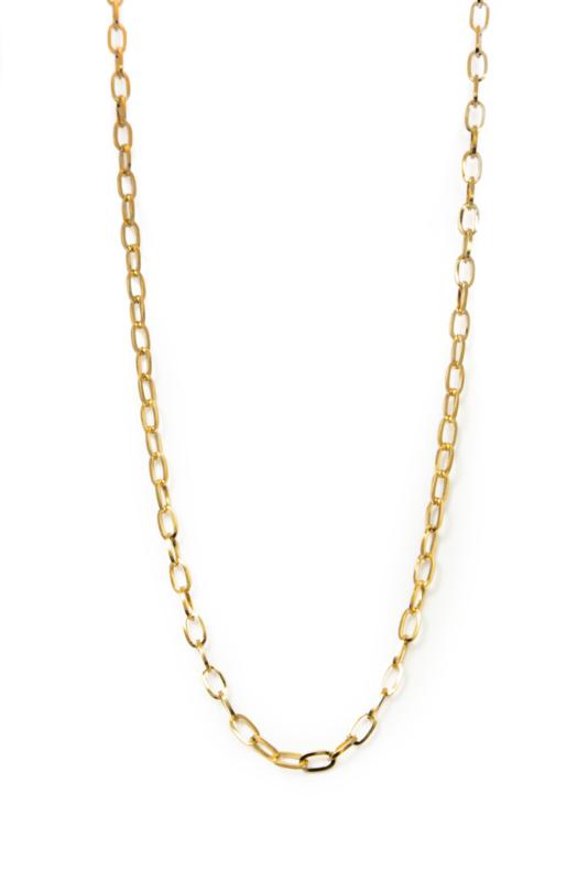 Golden big chain basic