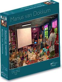 """Puzzel Marius van Dokkum """"Wachten op inspiratie"""""""