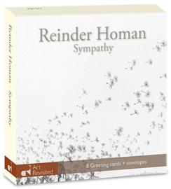 """Reinder Homan, Sympathy"""""""" , kaartenmapje"""