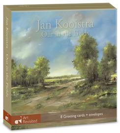 """Jan Kooistra """"Out in the fields"""", kaartenmapje"""
