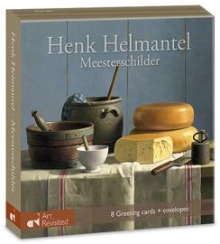 """Henk Helmantel, """"meesterschilder"""", kaartenmapje"""