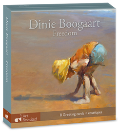 """Dinie Boogaart, """"Freedom"""", kaartenmapje"""