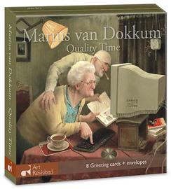 "Marius van Dokkum, ""quality time"", kaartenmapje"