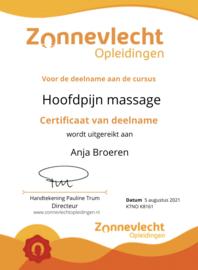 Hoofdpijn massages
